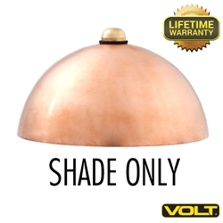 Mushroom Shade - Copper Finish