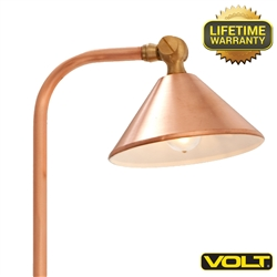 Classico Copper Path & Area Light