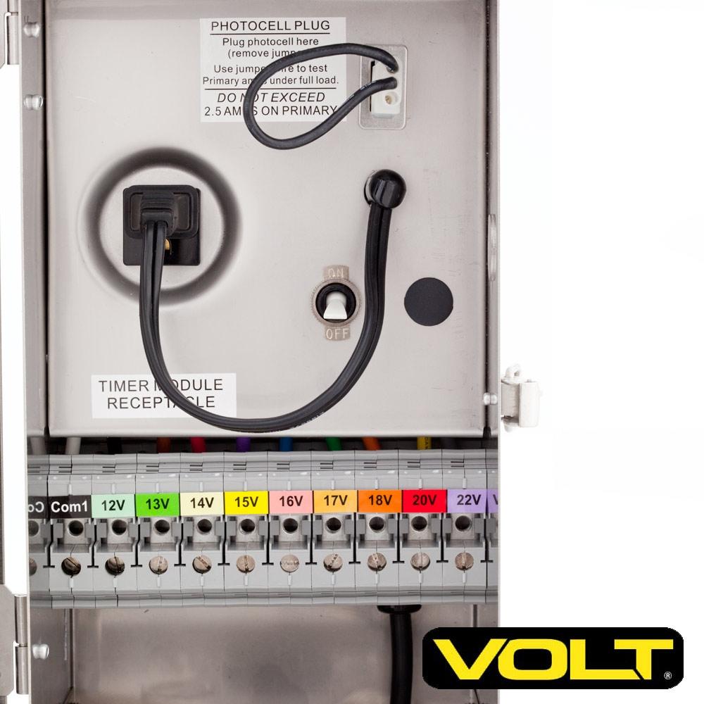 Low voltage landscape lighting controller