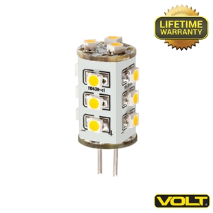 VOLT® 2-watt Mini BiPin LED Light Bulbs