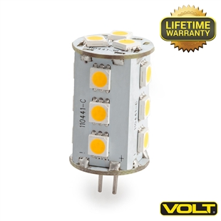 VOLT® 3-watt BiPin LED Light Bulbs