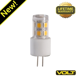 Small G4 LED (15w Equivalent) BI-PIN