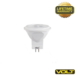 MR11 LED Lamps | 2 Watt 60 Degree (20-watt Replacement) - 3000K