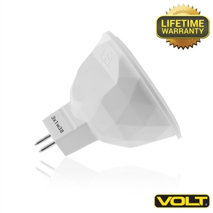 MR16 LED Lamps | 38º - 3 watt (20 watt Replacement) - 2700K