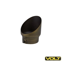 "VOLT® 2"" Solid Cast Brass Extended Glare Guard"