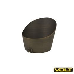 "VOLT® 3"" Solid Cast Brass Extended Glare Guard"