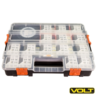 VOLT<sup>&reg;</sup>  Supplies Interlocking Lamp Storage & Transport Case