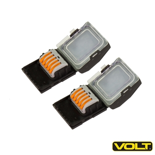 VOLT Micro-Junction Hub connector for low voltage landscape lighting