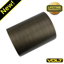 VOLT® Up/Down Deck Light | Antique Bronze Low Voltage Landscape Lighting