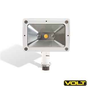 120V 10W LED Floodlight White with Knuckle
