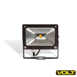 120V 10W LED Floodlight Bronze with Yoke