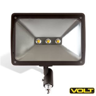 120V 50W LED Floodlight Bronze with Knuckle