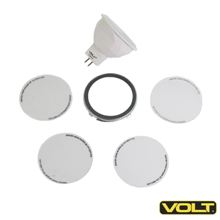 MR16 Multi-Beam Diffusion Filters Kit with LED MR16