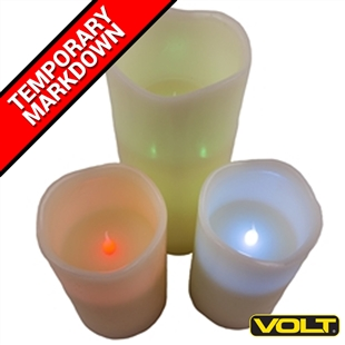 RGB Flameless LED Candles with Remote