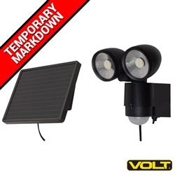 Outdoor Solar Flood Lights (black) - Security Lights by VOLT®