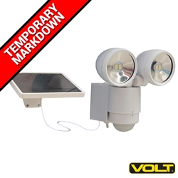 Outdoor Solar Flood Lights (white) - Security Lights by VOLT®
