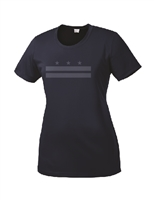 Ladies Reflective DC Flag Short Sleeve Performance T-Shirt