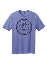 Blue Chain Logo Short Sleeve T-Shirt