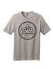 Gray Chain Logo Short Sleeve T-Shirt