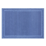 Pinstripe Blue high quality texturered boys room rugs.