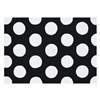 Black and white 7 ft 6 in x 9 ft 6 in extra large Hand Tufted Room Rug