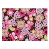 "Butterfly Safari 7'6"" x 9' 6"" Extra large  Hand Tufted Room Rug"