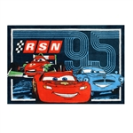 Disney Cars RSN 95 Trio 48 in x 70 in Printed Room Rug