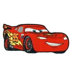 "Disney Cars - Lightning McQueen 24"" x 48"" Printed Scatter Rug"