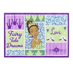 "Disney Princess Tianna Patch 48"" x 70"" Printed Room Rug"
