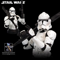 Star Wars- Clone Trooper Deluxe Bust- White