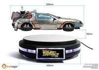 BACK TO THE FUTURE II - 1/20 FLOATING DELOREAN TIME MACHINE KLOG4544 KIds Logic