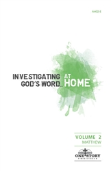 Investigating God's Word...At Home (ESV), Vol. 2