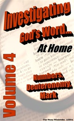 Investigating God's Word...At Home (NIV), Vol. 4