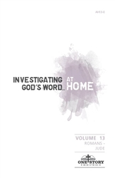 Investigating God's Word...At Home (ESV), Vol. 13