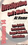 Investigating God's Word...At Home (NIV), Vol. 14