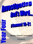 Sunday School Curriculum—Year Four (NIV), Fall