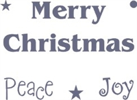 Merry Christmas, Peace, Joy