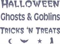 Halloween, Ghosts and Goblins, Tricks n' Treats