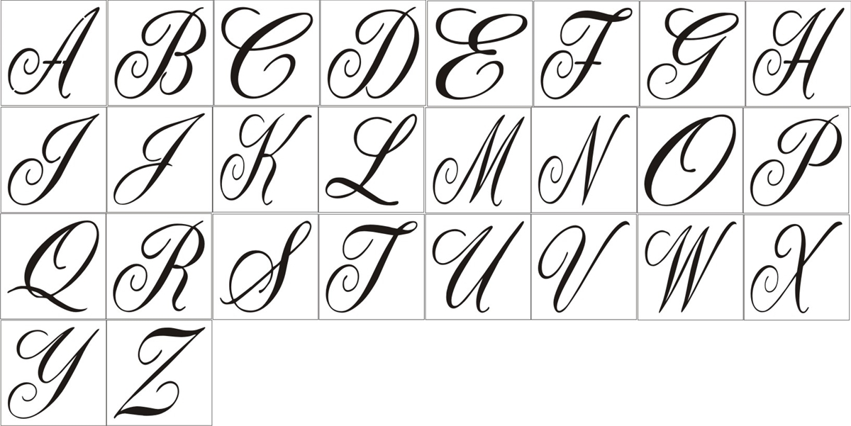 fancy script monogram font pictures to pin on pinterest car tuning