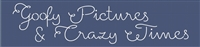 "Goofy Pictures & Crazy Times 24 x 5.5"" stencil"