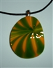 Kim Lotton Art Glass Pendant Nu 108