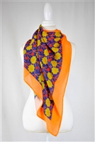scarf, beautiful, light color, scarves, Colorful, handmade, Eesme, India, Squares