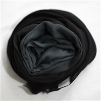 Eesme Black Ombre Scarf