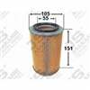 <h2>Daihatsu Hijet S80P & S81P Air Filter, A722J</h2>