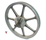 "USED 17"" grimeca GREY front 7 star mag wheel"