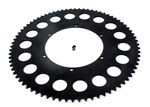 JD RACING pièces d'exceptions competition aluminum rear sprocket