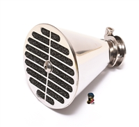 MLM bing velocity stack air filter - POLISHED stainless steel