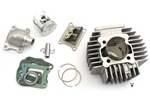 puch athena AJH 70cc 45mm reed cylinder kit - for bing
