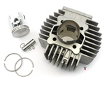 puch athena AJH 70cc 45mm reed cylinder - piston ONLY