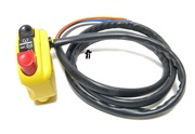 domino starter button + on/off switch - YELLOW